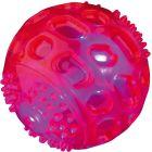 Ljudlös blinkande boll som flyter