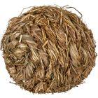 Lekboll av torkat gräs med bjällra