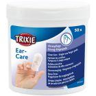 Trixie Fingerpads Öronvård 50p. Pads med Aloe Vera för enkel rengöring av örat.