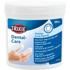 Trixie Fingerpads Tandvård 50p. Pads med mynta för enkel rengöring av tänder.