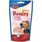 Trixie Soft Snack Bonies 75g. Mjuka godbitar med nöt och fågel.