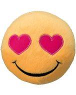 Mjuk boll med kär Emoji Smiley
