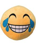 Mjuk boll med skrattar Emoji Smiley
