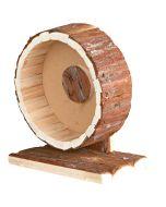 Tyst och mjuk träningshjul av trä