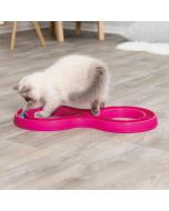 Trixie Flashing Ball Race Cat. Byggbar kattleksak med blinkande boll.