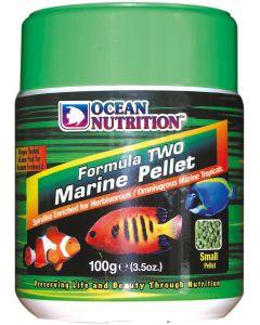 Mjuk pellets för växtätande saltvattenfiskar