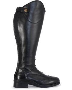Jacson Stövel Sorrento Svart W. Extra vid ridstövel i svart läder.