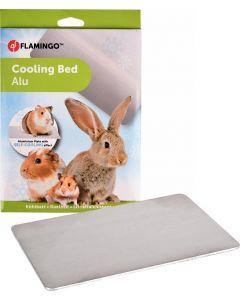 Flamingo. Kyldyna Cooling Bed Alu. Svalkande platta i gnagartålig aluminium.