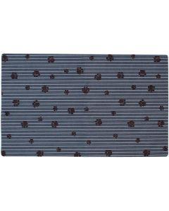 Drymate Underlägg Paw Stripe. Vattentätt underlägg i mjuk polyester.