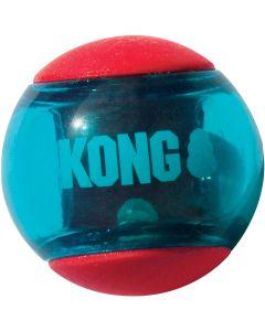 Färgstark gummiboll med pip