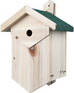 Trixie Fågelholk Hålhäckande. Väderbeständig fågelholk för nötväckor och mesar.