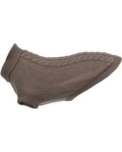 Trixie. Kenton Pullover Mullvad 24cm. Skön och bekväm hundtröja i akryl.