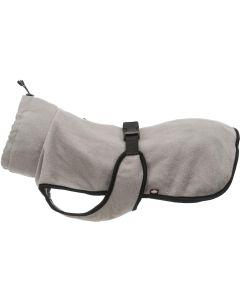 Trixie. Fleecetäcke Grenoble Grå 30cm. Bekvämt vattenavvisande fleecetäcke.