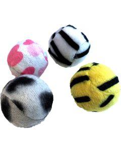 Hansbo Sport. Kattbollar Classic 4-pack. Set med 4st kattbolllar.