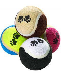 Mitzo. Tennisbollar Hund 4-pack. Flerpack med tennisbollar till hund.