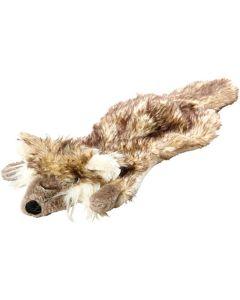 Mitzo. Hundleksak Roadkill-Rocky. Platt leksak i långhårig och korthårig plysch.