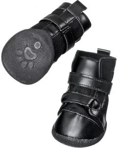 Flamingo. Hundskor Xtreme Boots 2-pack. Skyddar tassen från glas