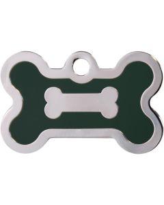 ID-tag för alla husdjur. Tillverkad i mässing av hög kvalitet.