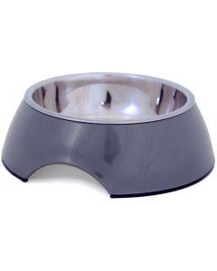 Klassisk skål i melamin med rostfri innerskål