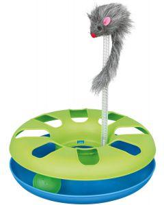 Lekkula i som snurrar med mus på toppen