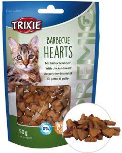 Kattgodis hjärtan med smak av grillad kyckling