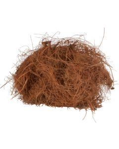 Helt smältbart bomaterial av kokosfibrer