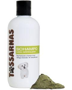 Miniralrikt shampoo med vårdande grönlera