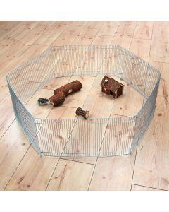Hamsterhage av galvaniserad metall