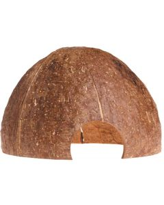 Kokosnöt grotta till terrariedjur, malar och ciklider