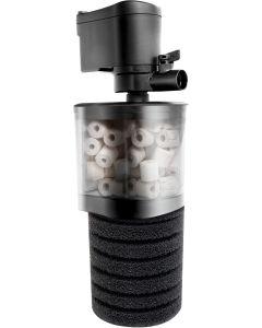 Turbofilter som filtrerar