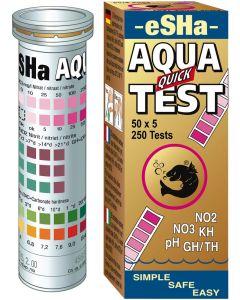 Snabb och enkel mätning av 6 olika vattentester