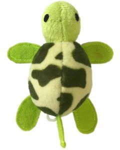 Uppdragbar sködpadda som rör sig spännande