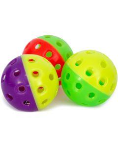 Färgglad bjällerboll med pingla