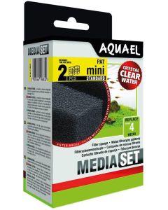 Aquael Sponge 2-p Pat Mini. Filtersvampar till innerfilter Pat Mini.