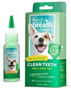 Tandkräm gel som rengör utan tandborste