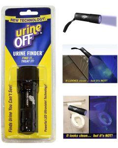 Urine Off UV-lampa. Lampa för att hitta osynliga urinfläckar.