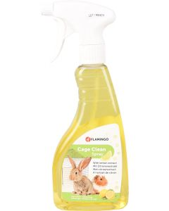 Flamingo Cage Clean Lemon. Rengöringsspray till bur