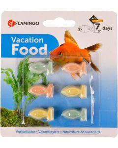 Flamingo. Vacation Food 7-dagar. Idealiskt fodret till fiskarna när du är bortrest.