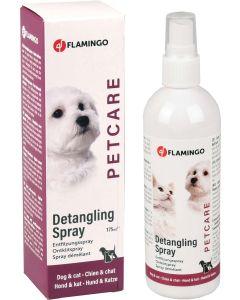 Flamingo. Petcare Detangling Spray. Reder ut tovor och trassel.