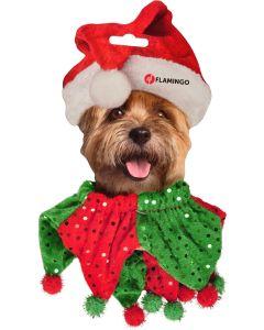 X-mas Neck Decoration Dog. Sött och dekorativt julhalsband till hund.