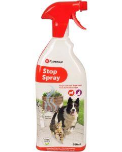 Flamingo. Stop Spray Avvisning Spray. Effektiv avvisningsspray för utomhusbruk.