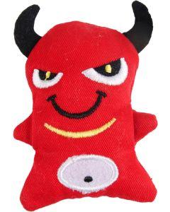 Kattleksak Devil 8 cm. Tuff kattleksak med prasselljud.