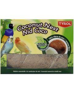 Tyrol Redematerial Kokosfibrer. Kokos bomaterial till små sällskapsfåglar.