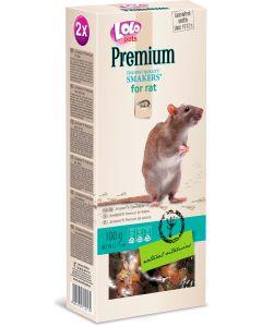 Lolo Smakers Premium Råtta. Smakrika kräcker med naturliga vitaminer.