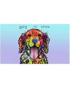 Drymate Underlägg Dog Is Love. Underlägg med Dean Russo design.