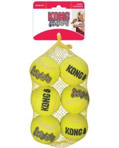 Tennisbollar med pipljud för hund