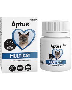 Aptus Multicat Tabletter. Multivitamin med taurine.