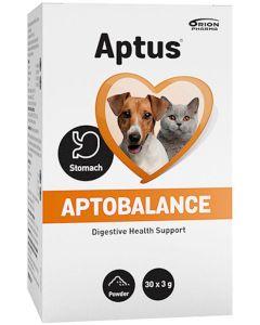 Aptus Aptobalance Påsar 30x3g. Mot känslig mage hos hund och katt .