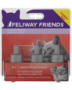 Feliway Friends Refill 3-pack. Minskar spänningar mellan katter i hemmet.