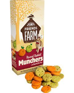 Supreme Petfoods. Russel Rabbit Munchers. Goda kex med smak av morötter & ärtor .